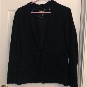 Dana Buchman Black Lace Blazer